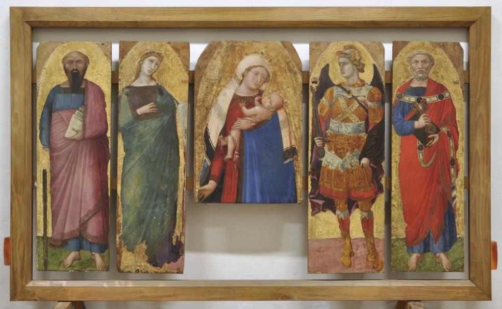 11. Polittico della chiesa di San Pietro in Castelvecchio