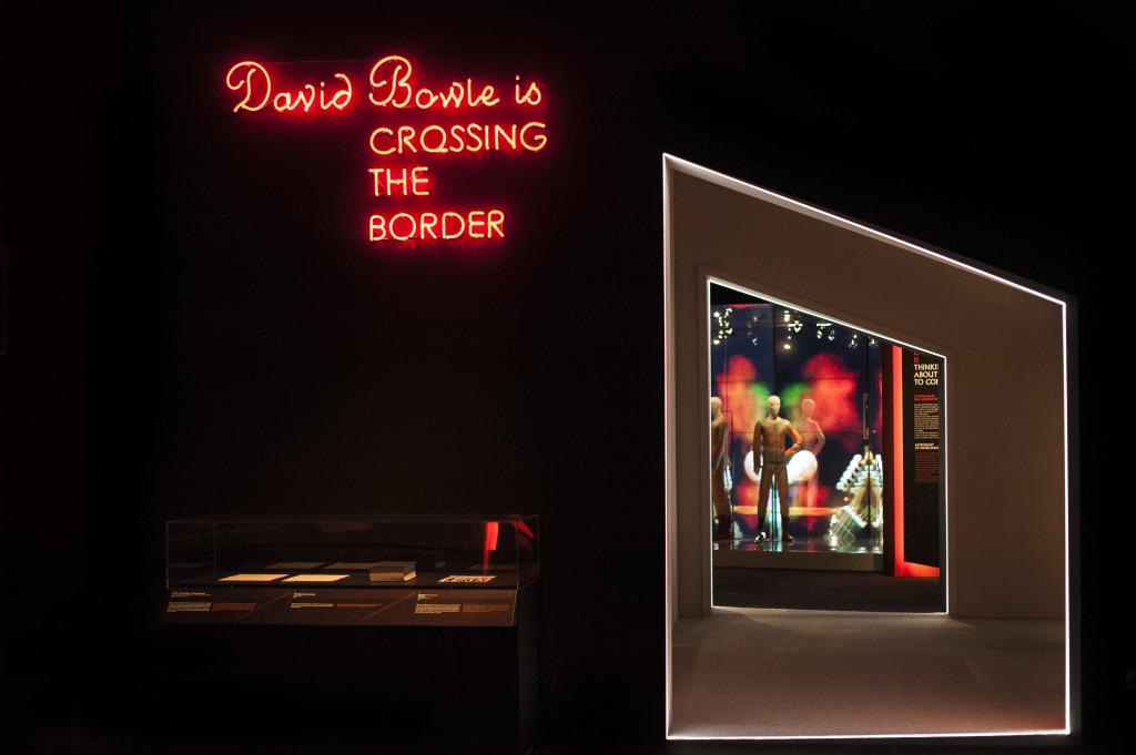 David Bowie is - veduta della mostra - Courtesy: MAMbo