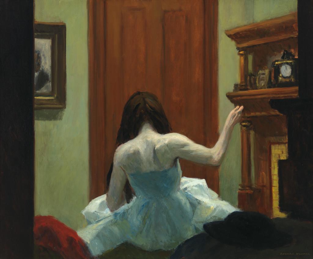 Edward Hopper (1882 1967) New York Interior (Interno a New York) 1921 circa Olio su tela, 61,8x74,6 cm New York, Whitney Museum of American Art; Lascito di Josephine N. Hopper © Heirs of Josephine N. Hopper, Licensed by Whitney Museum of American Art