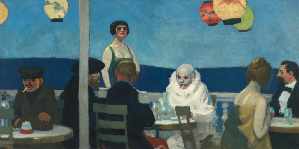 Edward Hopper (1882 1967) Soir Bleu (Sera blu) 1914 Olio su tela, 91,8x182,7 cm New York, Whitney Museum of American Art Lascito di Josephine N. Hopper © Heirs of Josephine N. Hopper, licensed by Whitney Museum, N.Y.