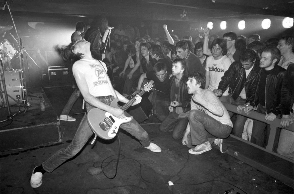 The Ramones © Ian Dickson