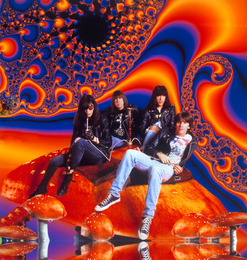 The Ramones - publicity shot for the Acid Eaters album © George DuBose