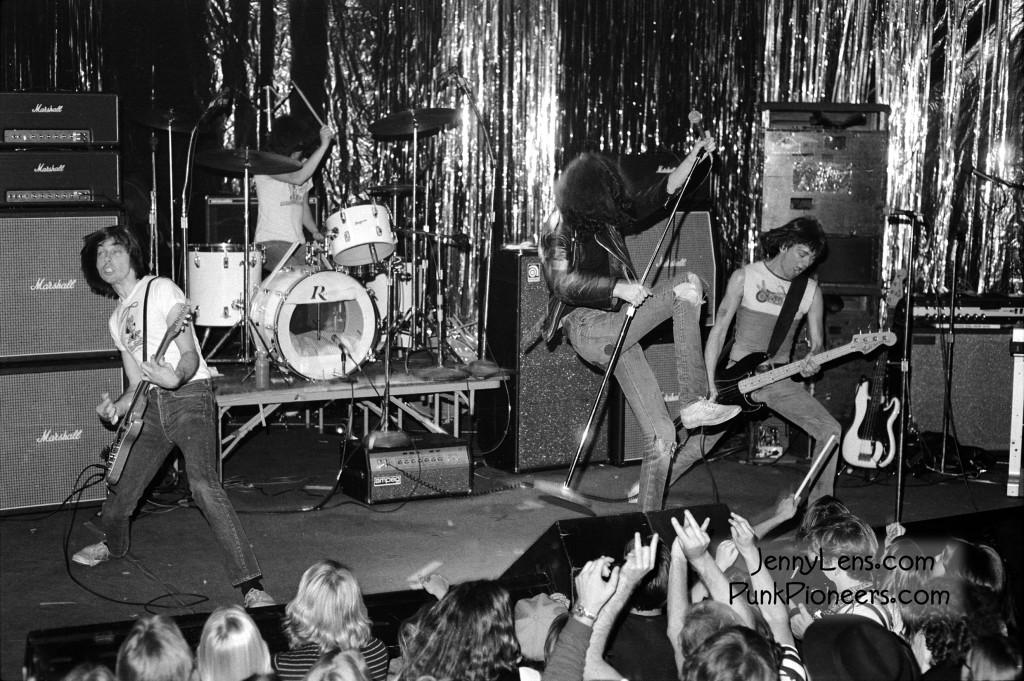 The Ramones © Jenny Lens