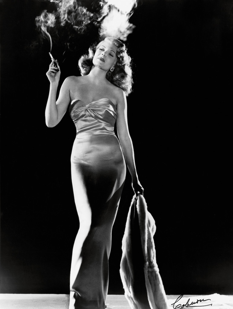 Rita Hayworth by Robert Coburn for Gilda, 1946. Columbia Pictures © John Kobal Foundation