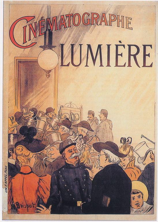 Museo Nazionale del Cinema - Archeologia del Cinema Manifesto Cinématographe Lumière