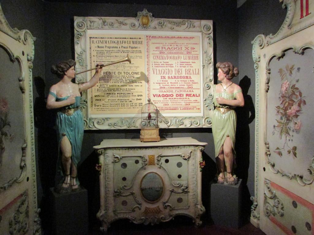 Collezione del Museo del Cinema di Torino. Foto: IL MURO. Courtesy del Museo del Cinema