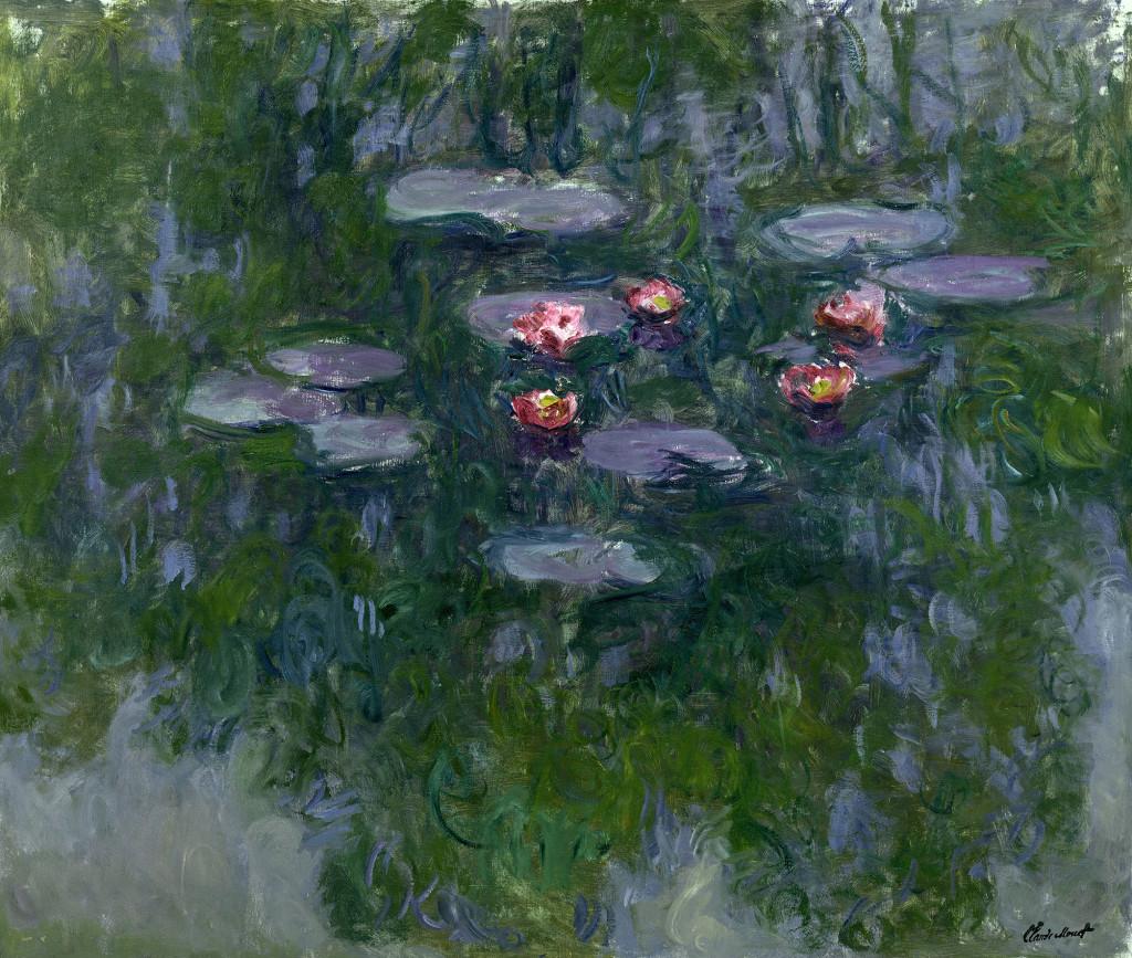 Claude Monet (1840-1926) Ninfee, 1916-1919. Olio su tela, 130x152 cm Parigi, Musée Marmottan Monet © Musée Marmottan Monet, paris c Bridgeman-Giraudon / presse